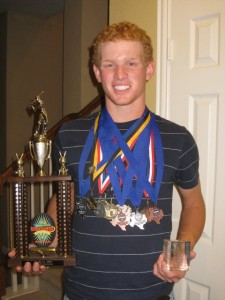 Golf Trophy Alex Nelson awards